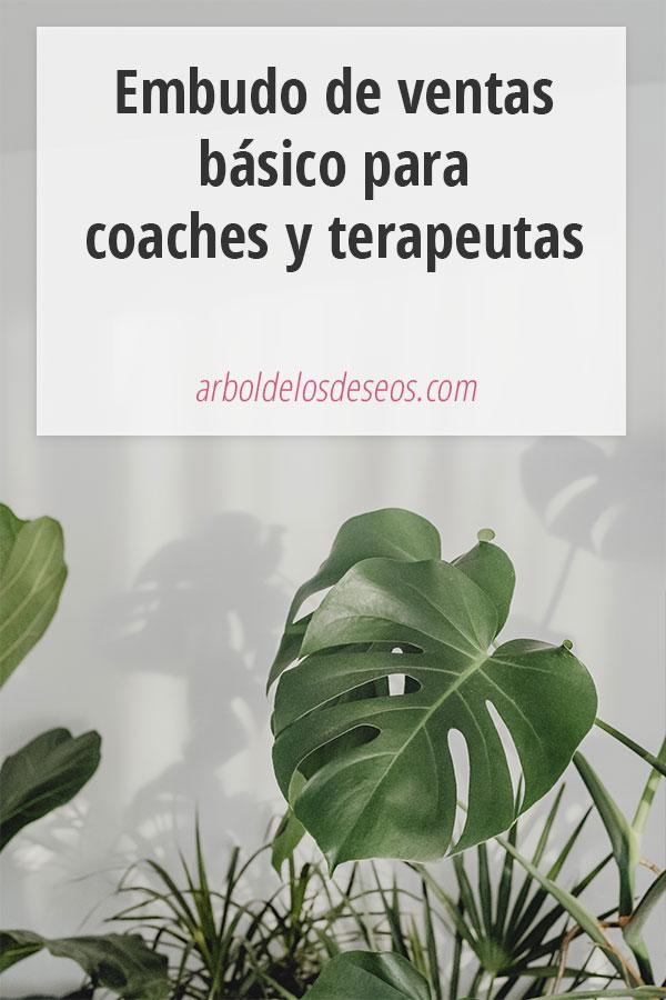 Embudo de ventas básico para coaches y terapeutas