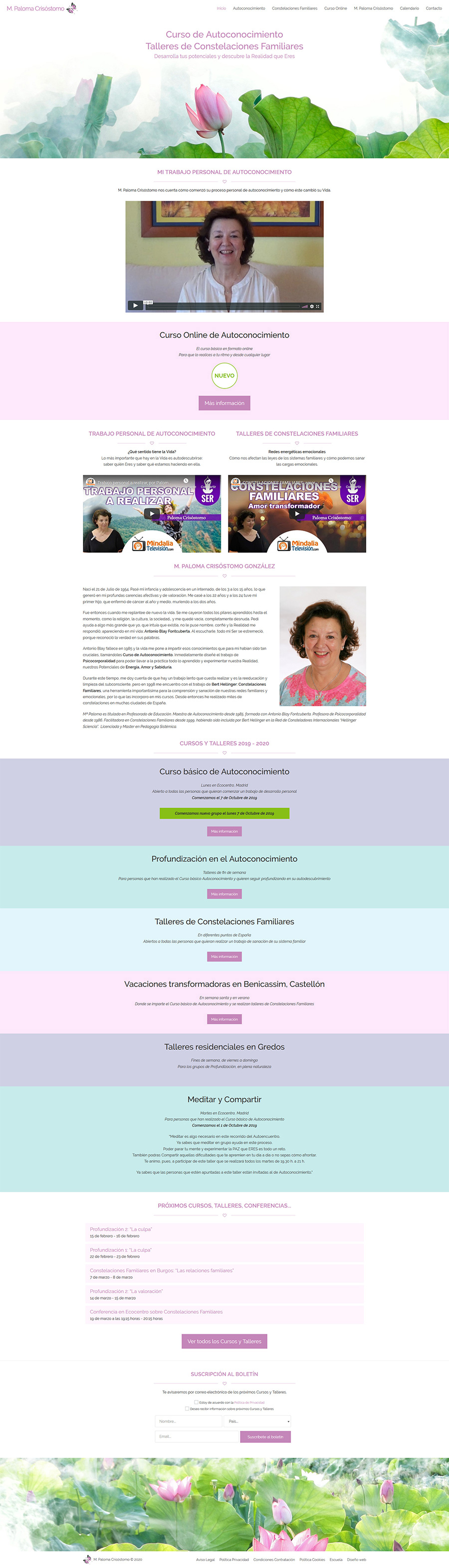 Paloma Crisóstomo - Cursos de Autoconocimiento