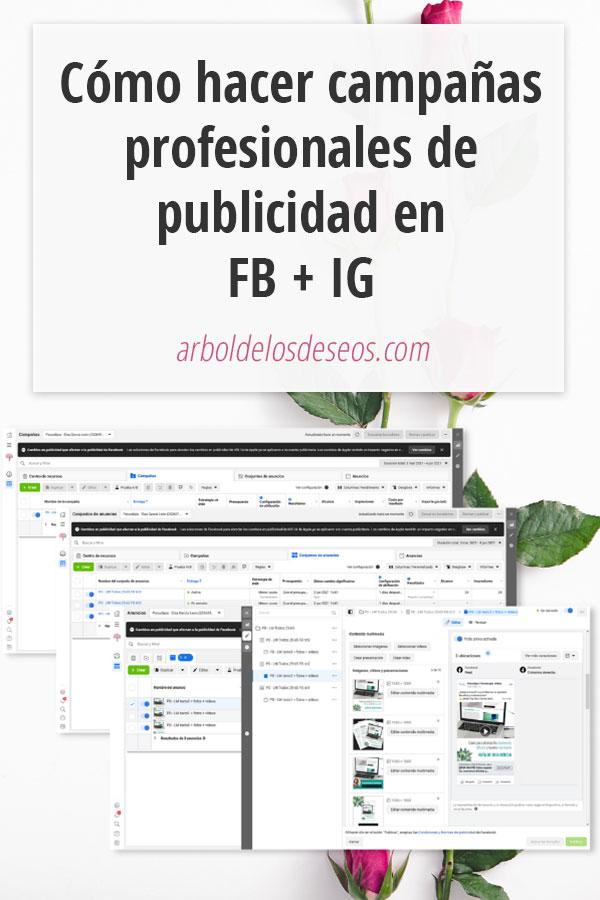 Cómo hacer campañas profesionales de Publicidad en Facebook + Instagram