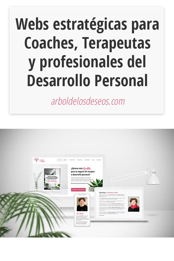 Webs estratégicas para Coaches, Terapeutas y profesionales del Desarrollo Personal